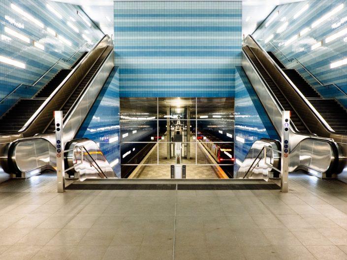 U-Bahn Überseequartier und Hafen City