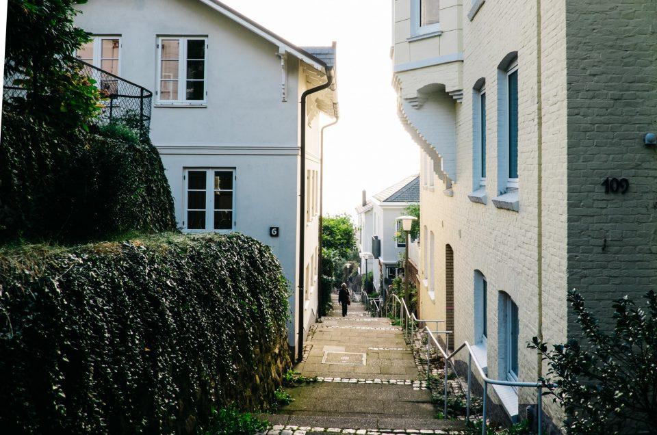 Das Treppenviertel in Blankenese