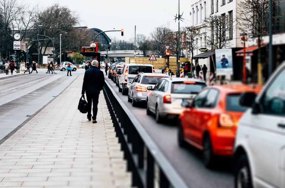 Unterwegs auf Hamburgs Straßen