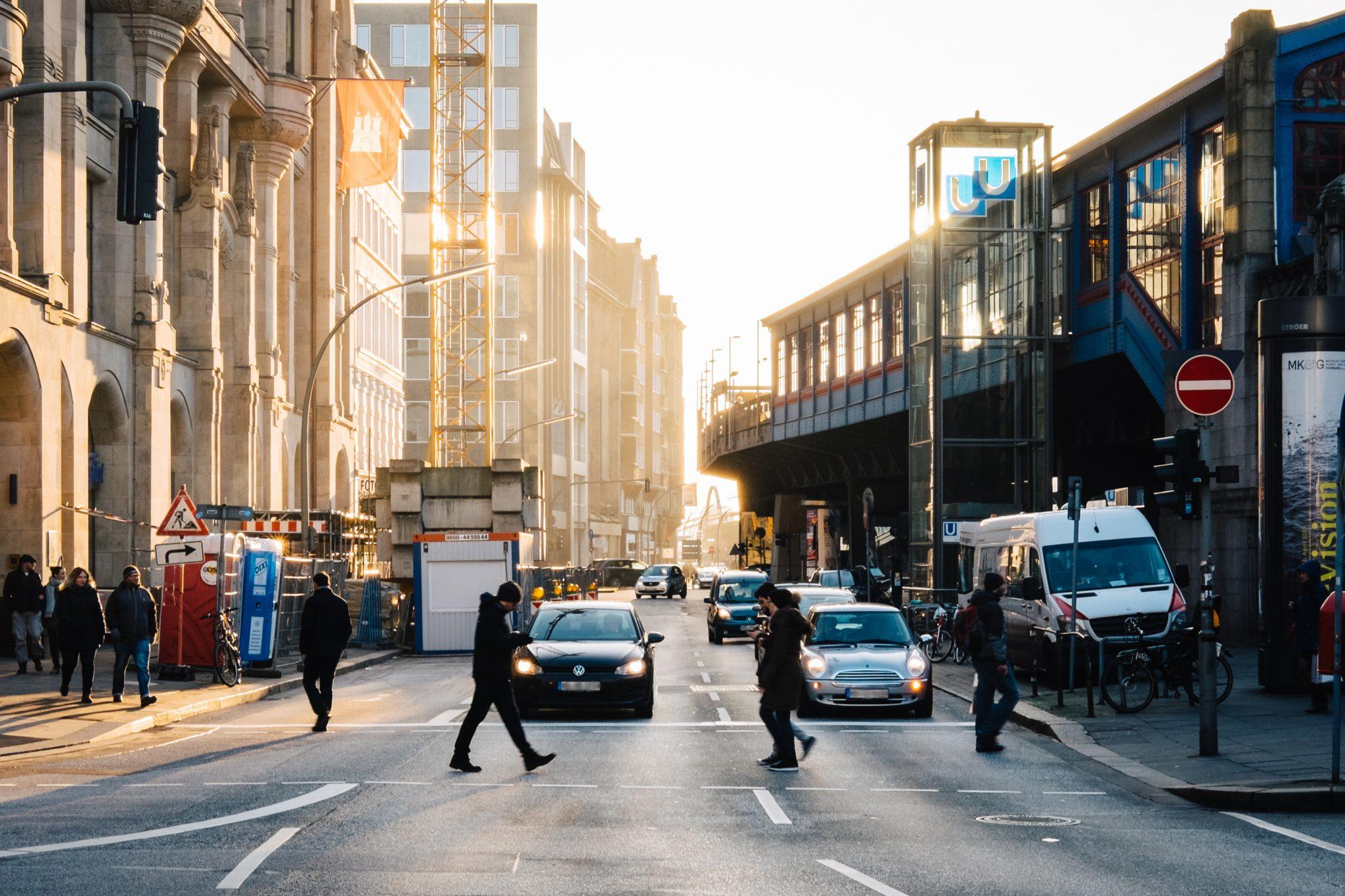 Street Photography, People, Hamburg, Urban