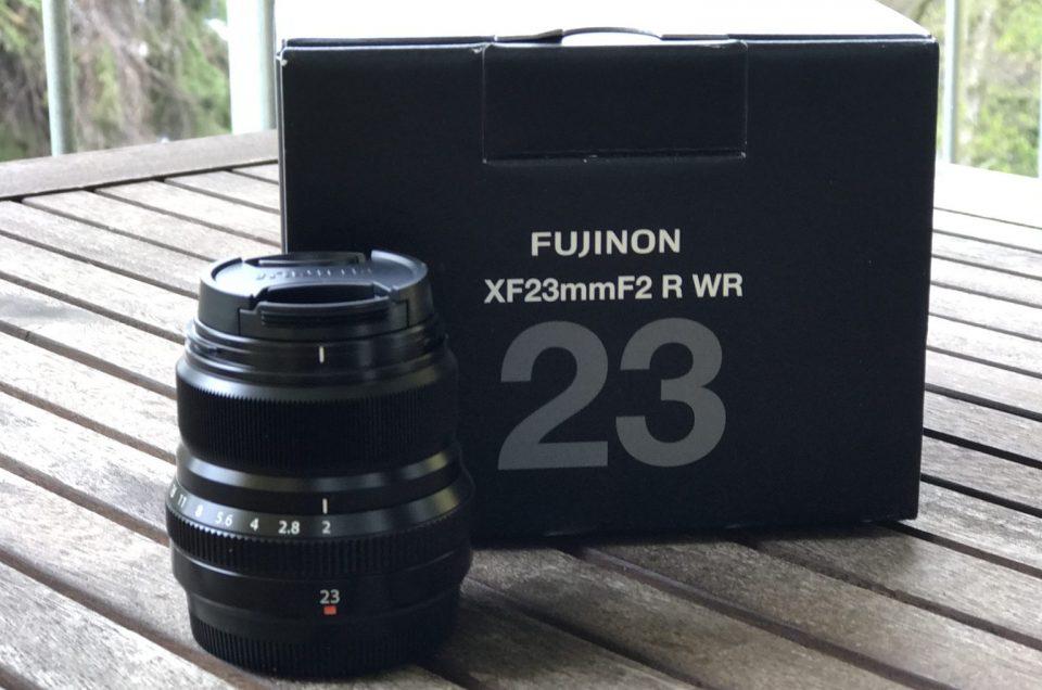 Meine Meinung über das Fujifilm Fujinon XF23f2 R WR